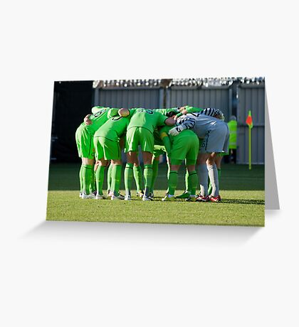 The Huddle Greeting Card