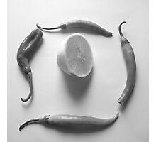 Lemon and Paprika Photographic Print