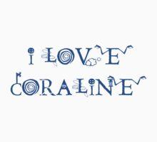 I Love Coraline by Zehda