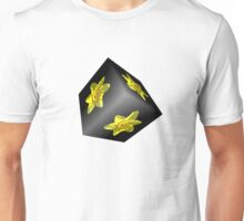 Daffodil on Black Unisex T-Shirt