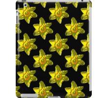 Daffodil on Black iPad Case/Skin