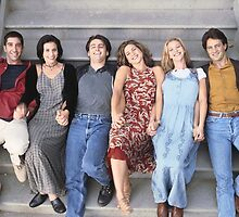 Friends Cast by alimaric