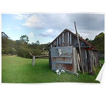 Historic Shed, Ocean and Earth Farmstay Poster