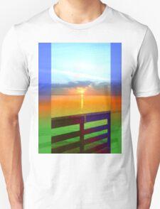 Blue edge Pier Unisex T-Shirt