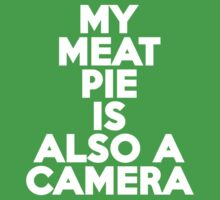 My meat pie is also a camera Kids Clothes