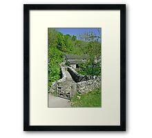 Viator's Bridge, Milldale Framed Print