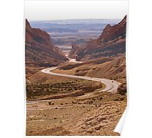 Spotted Wolf Canyon Utah Poster