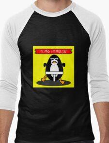 sumo penguin Men's Baseball ¾ T-Shirt