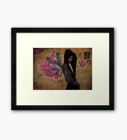 The Dark Fey  Framed Print
