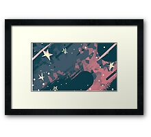 Steven Universe, Space and stars Framed Print