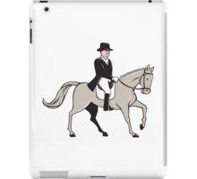 Equestrian Rider Dressage Cartoon iPad Case/Skin