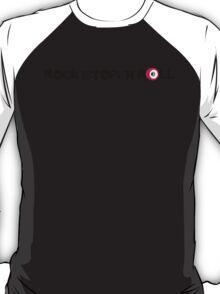Rock (Stop) 'n Roll (black) T-Shirt
