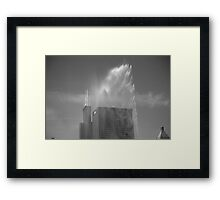 Chicago - Buckingham Fountain Framed Print