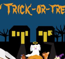 Happy Trick or Treating! Sticker