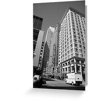 Chicago Downtown Greeting Card
