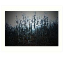 Dying Trees Art Print