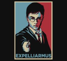 Expelliarmus Harry Potter Daniel Radcliffe Shirt - In Obama Hope Style T-Shirt