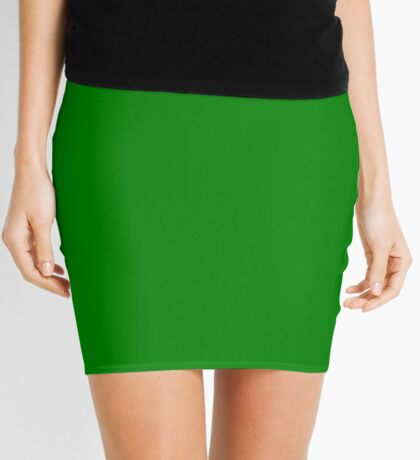 New Green  Mini Skirt