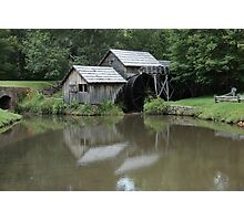 Mabry Mill - Blue Ridge Mountains Photographic Print