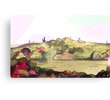 Steven Universe, Battlefield Canvas Print