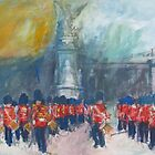 Buckingham Palace by Marcie Wolf-Hubbard