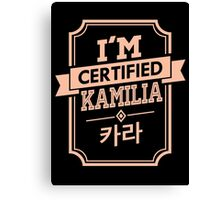 Certified KARA Kamilia Canvas Print