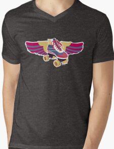 Flying Groovy Skate Mens V-Neck T-Shirt