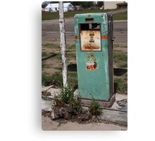 Route 66 Gas Pump - Adrian, Texas Canvas Print