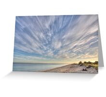 Busselton Beach, Western Australia Greeting Card