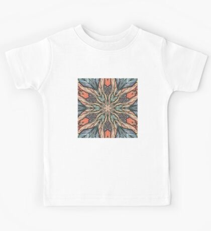 Autumn Leaves Mandala Kids Tee