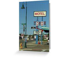 Route 66 - Santa Rosa, New Mexico Greeting Card