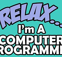 Relax.... I'm A Computer Programmer by cutetees