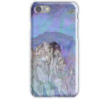 felling blue iPhone Case/Skin