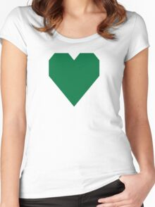 Dartmouth Green  Women's Fitted Scoop T-Shirt