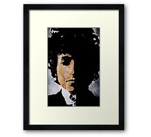 Bob Dylan Born already ruined Framed Print