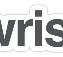 Look At Wrist  Sticker