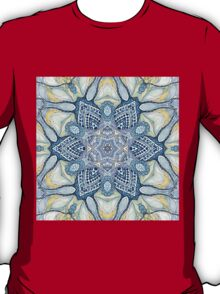 Blue and yelow mandala T-Shirt