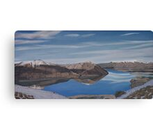 Ohau reflection Canvas Print
