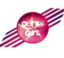 Derby Girl Logo by levywalk
