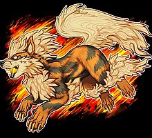 Arcanine by Blutfuss
