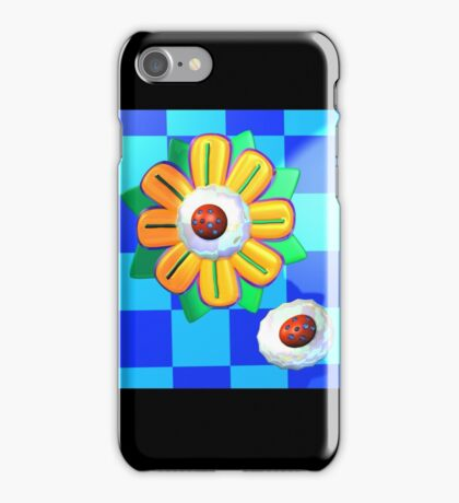 Scand Flower and Whipped Cream iPhone Case/Skin