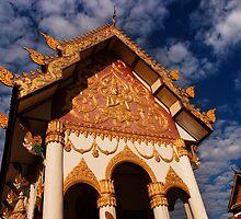 Wat Nanthakham - Tha Khaek, Laos by Alex Zuccarelli