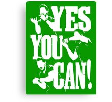 Shia Labeouf - YES YOU CAN Canvas Print