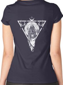 The Withering Crone Women's Fitted Scoop T-Shirt