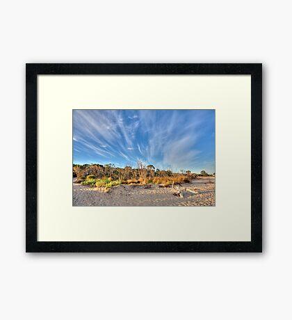 Busselton Beach, Western Australia Framed Print