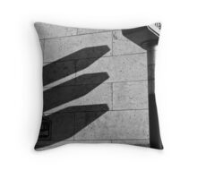 A Day at the Trocadero Throw Pillow