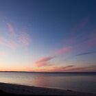 Busselton Beach at sunset, Western Australia by Nigel Donald