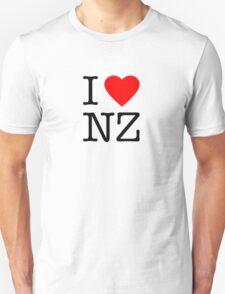 I heart New Zealand T-Shirt