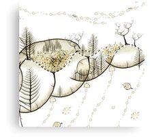 Forêt du Monde Graine - Seed world forest Canvas Print