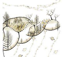 Forêt du Monde Graine - Seed world forest Photographic Print